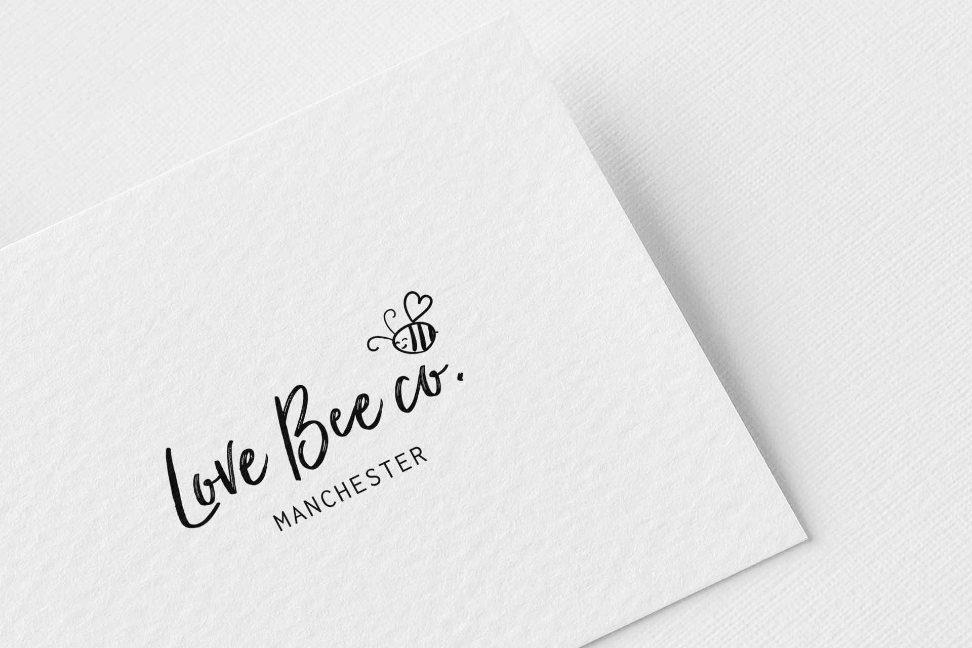pixel-perfect-warrington-love-bee-logo-design